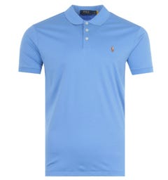 Polo Ralph Lauren Cotton Jersey Polo Shirt - Harbour Blue
