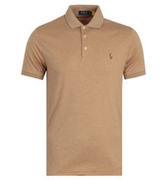 Polo Ralph Lauren Cotton Jersey Polo Shirt - Camel