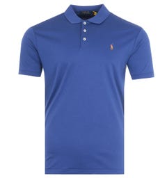 Polo Ralph Lauren Cotton Jersey Polo Shirt - Cobalt Blue