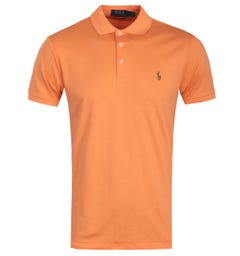 Polo Ralph Lauren Cotton Jersey Polo Shirt - Orange