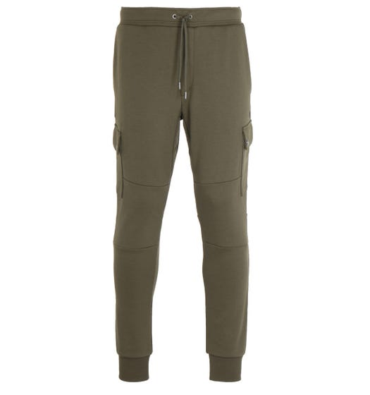 Polo Ralph Lauren Tech Fleece Green Cargo Sweatpants