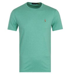 Polo Ralph Lauren Custom Slim Fit Crew Neck T-Shirt - Green