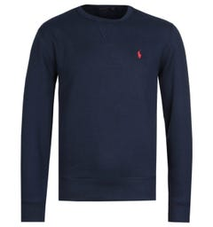 Polo Ralph Lauren Logo Fleece Sweatshirt - Navy