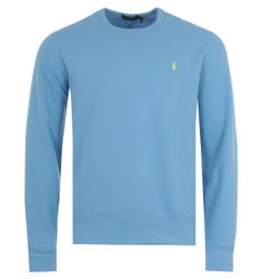 Polo Ralph Lauren Logo Fleece Sweatshirt - Cabana Blue