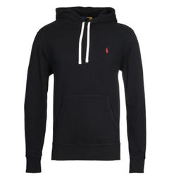Polo Ralph Lauren Logo Hooded Sweatshirt - Black