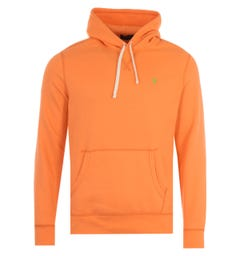 Polo Ralph Lauren Logo Hooded Sweatshirt - Popsicle Orange