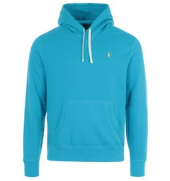 Polo Ralph Lauren Logo Hooded Sweatshirt - Cove Blue