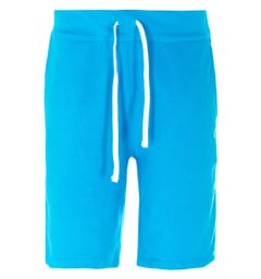 Polo Ralph Lauren Logo Sweat Shorts - Cerulean Blue