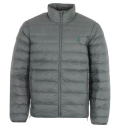 Polo Ralph Lauren Sustainable Packable Padded Jacket - Charcoal