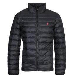 Polo Ralph Lauren Sustainable Packable Padded Jacket - Black