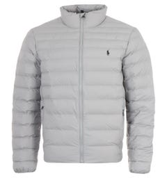 Polo Ralph Lauren Sustainable Packable Padded Jacket - Grey