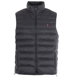 Polo Ralph Lauren Sustainable Packable Gilet - Black