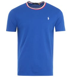 Polo Ralph Lauren Featherweight Mesh T-Shirt - Cobalt Blue