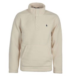 Polo Ralph Lauren Cream Mockneck Fleece