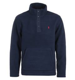 Polo Ralph Lauren Navy Mockneck Fleece
