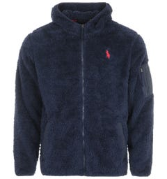 Polo Ralph Lauren Utility Fleece Hooded Sweatshirt - Navy