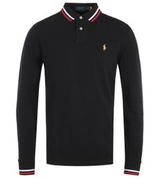 Polo Ralph Lauren Lunar New Year Black Long Sleeve Polo Shirt