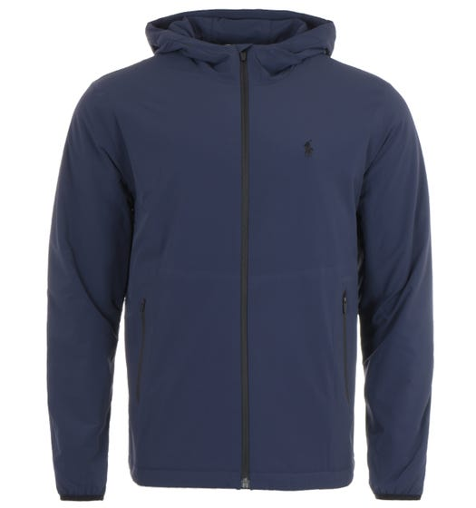 Polo Ralph Lauren Water Repellent Stretch Hooded Jacket - Navy