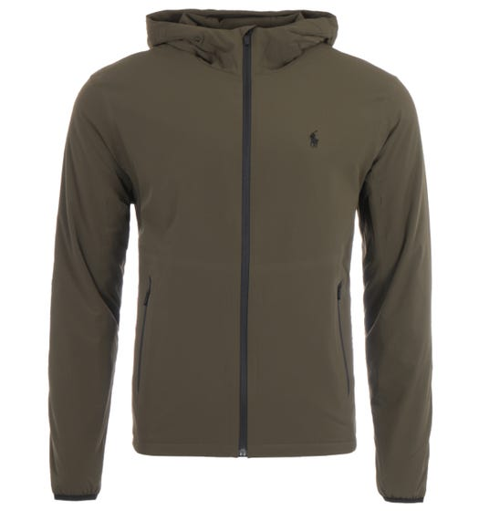 Polo Ralph Lauren Water Repellent Stretch Hooded Jacket - Olive