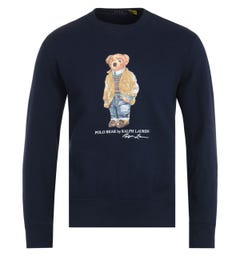 Polo Ralph Lauren Polo Bear Navy Sweatshirt