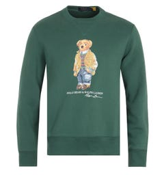 Polo Ralph Lauren Polo Bear Sweatshirt - Green