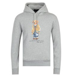 Polo Ralph Lauren Polo Bear Hooded Sweatshirt - Heather Grey