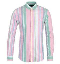 Polo Ralph Lauren Slim Fit Stripe Multi Shirt