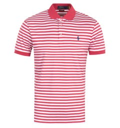 Polo Ralph Lauren Classics Stripe Red Polo Shirt
