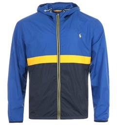 Polo Ralph Lauren Belport Hooded Jacket - Yellow & Blue