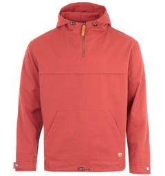 Armor Lux Heritage Water Repellent Cotton Smock - Rosewood
