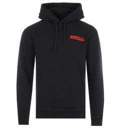 Maharishi Fine Tailor Organic Cotton Hooded Sweatshirt - Black