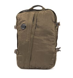 CP Company Lens Travel Backpack - Dark Olive