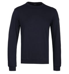 Paul & Shark Crew Neck Sweatshirt - Navy
