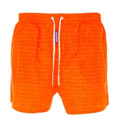 Dsquared2 Made In Canada Swim Shorts - Orange