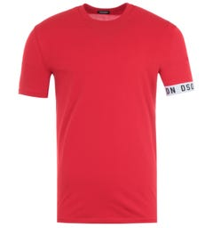 Dsquared2 Short Sleeve T-Shirt - Red