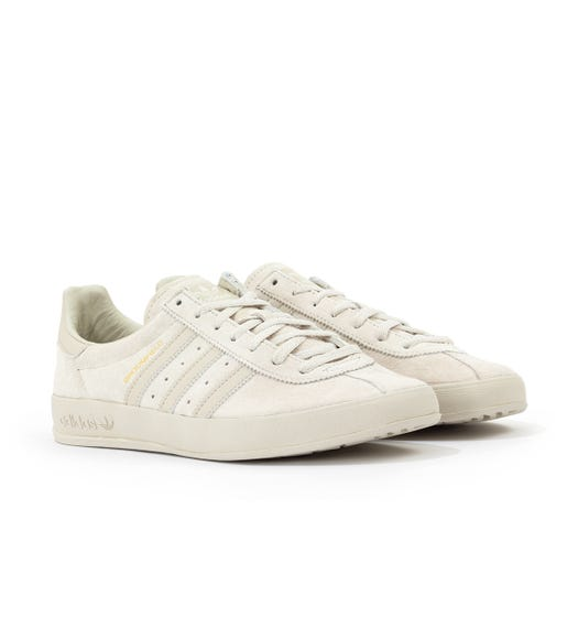 Adidas Originals Broomfield Trainers - Raw White & Clear Brown