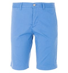 Lacoste Stretch Slim Fit Chino Shorts - Blue