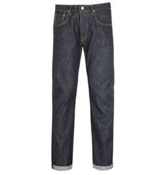 Edwin Made in Japan Regular Tapered Jeans - Dark Blue