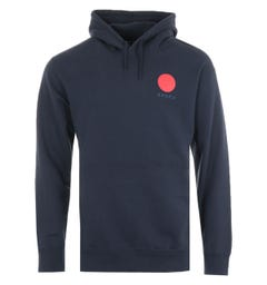 Edwin Japanese Sun Hooded Sweatshirt - Navy