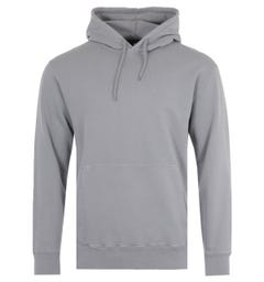 Edwin Katakana Hooded Sweatshirt - Frost Grey