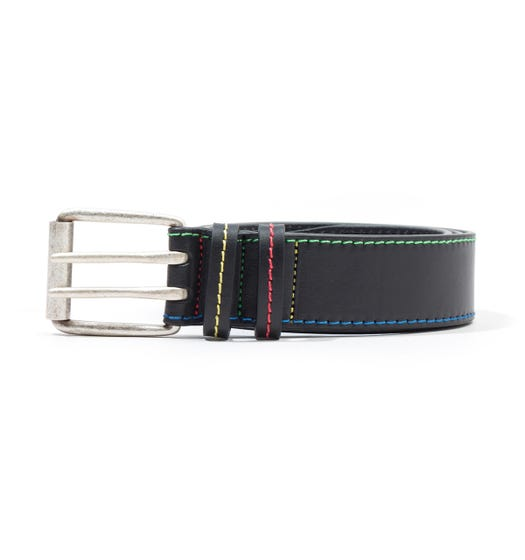 PS Paul Smith Classic Leather Belt - Black