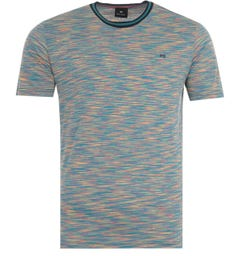 PS Paul Smith Abstract Stripe T-Shirt - Multi