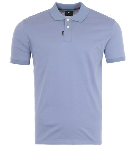 PS Paul Smith Organic Cotton Jersey Polo Shirt - Lilac