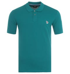 PS Paul Smith Organic Cotton Polo Shirt - Teal