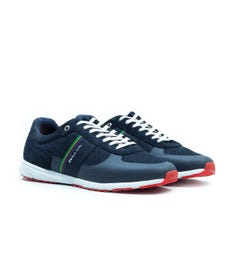 PS Paul Smith Huey Navy Suede & Mesh Trainers