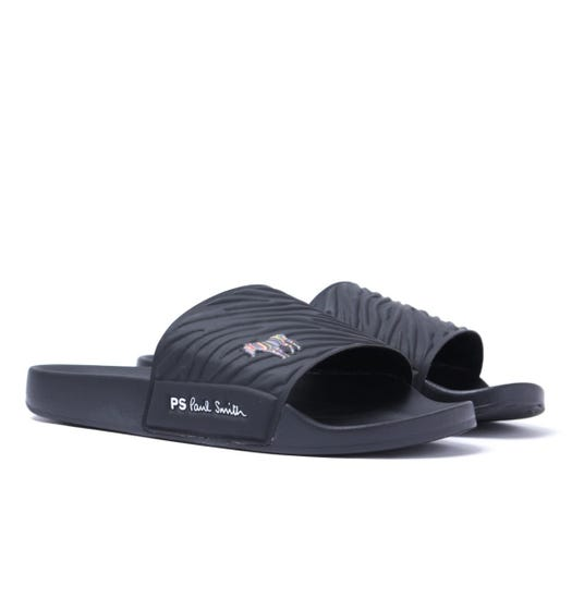 PS Paul Smith Summit Sliders - True Black