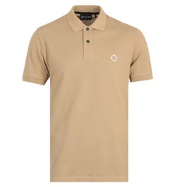 MA.Strum Icon Short Sleeve Polo Shirt - Sand