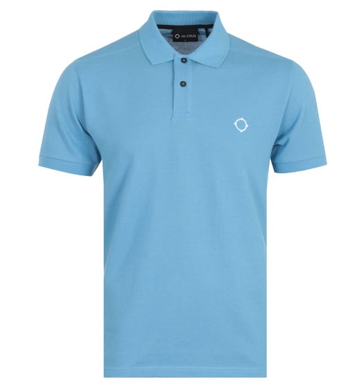 MA.Strum Icon Short Sleeve Polo Shirt - Dutch Blue Woodhouse Exclusive