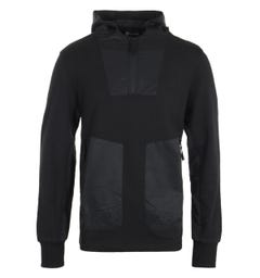 MA.Strum Heavyweight Hooded Sweatshirt - Jet Black