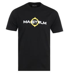 MA.Strum Logo Short Sleeve T-Shirt - Jet Black